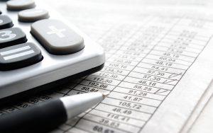 administratie inkomsten en uitgaven